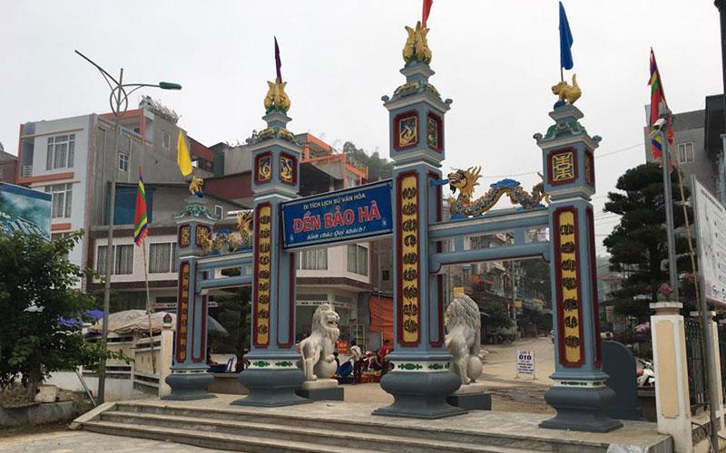 Đền Bảo Hà Lào Cai